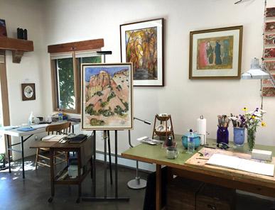 Betsy Kuhn Art Studio Tesuque, New Mexico